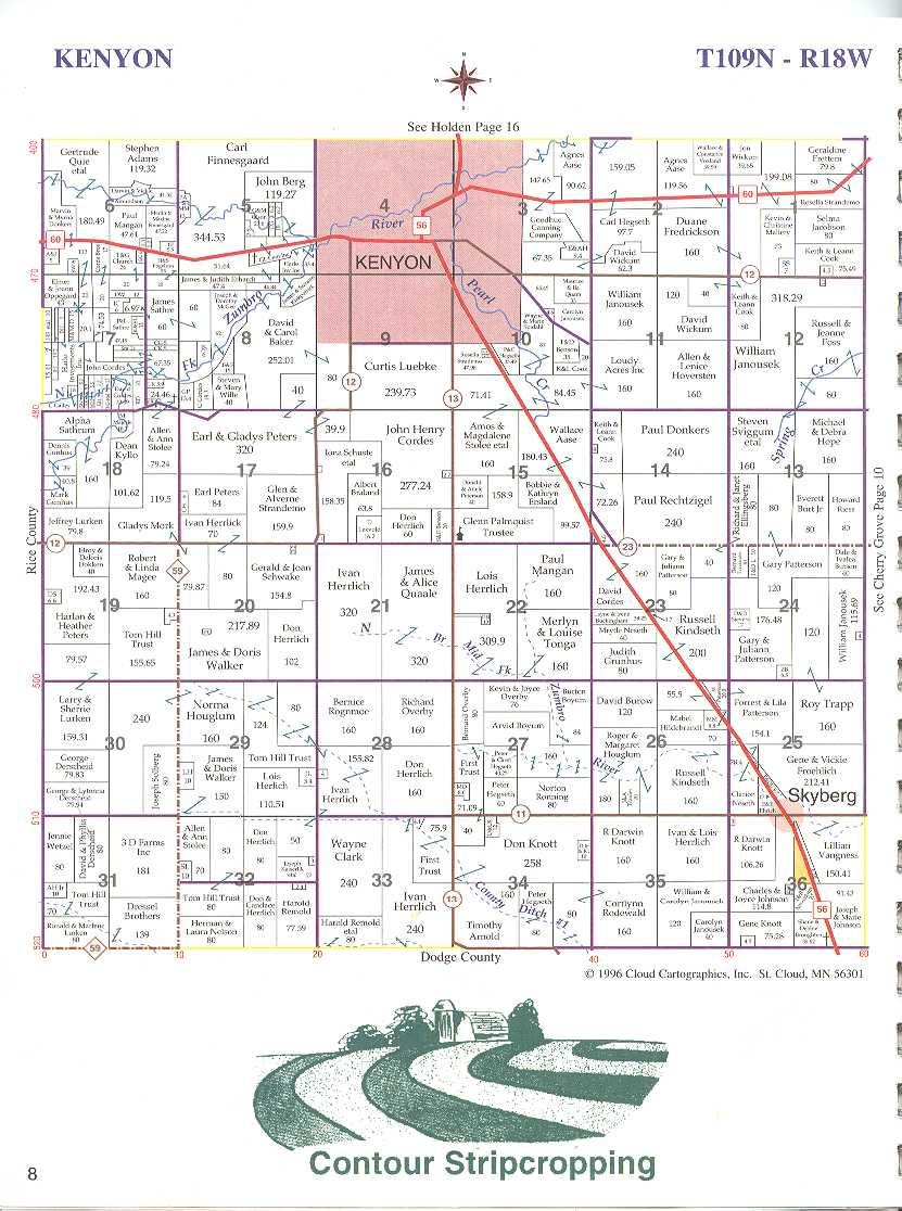 233K plat-book-kenyon-tow.kenyon township