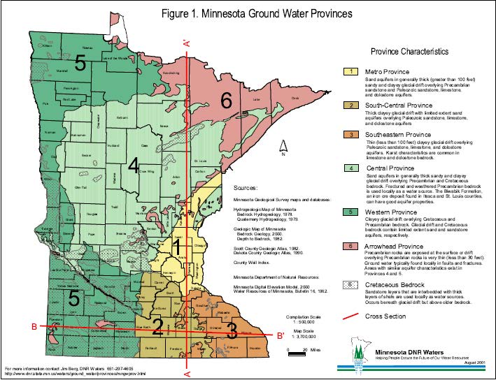 MinnesotaGroundwaterProvinces