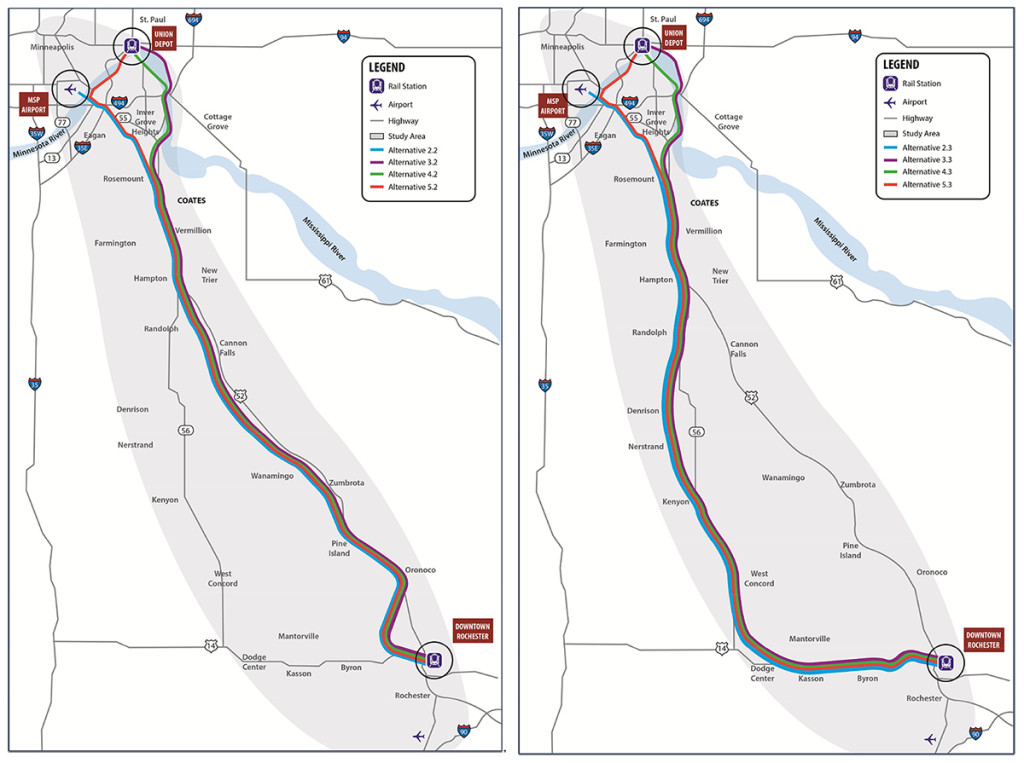 Passenger Rail Corridor Investment Plan and Tier 1 EIS