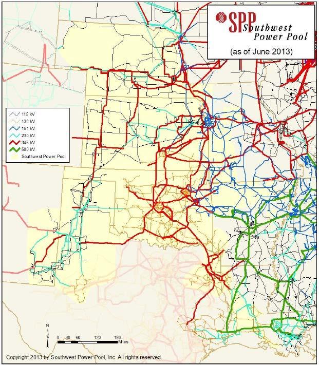 SPP Map 2013