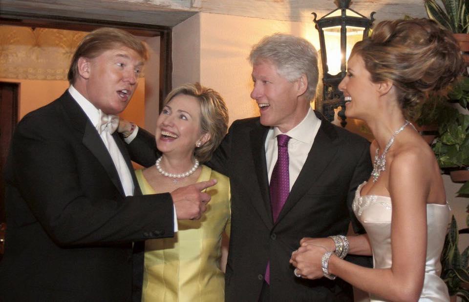 Trump&Clintons