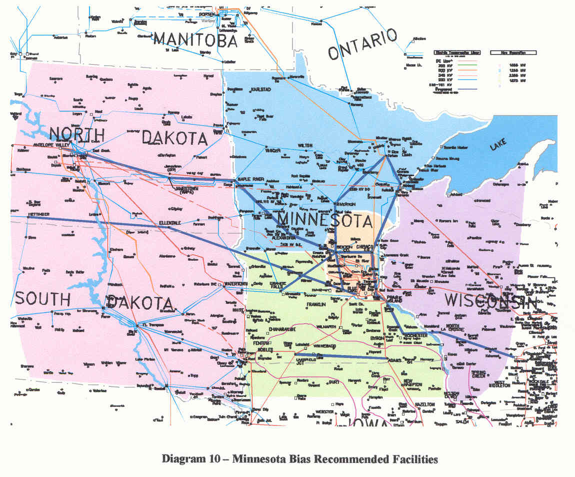 Legalectric Blog Archive TRANSMISSION FOR DUMMIES - Map of wisconsin and minnesota